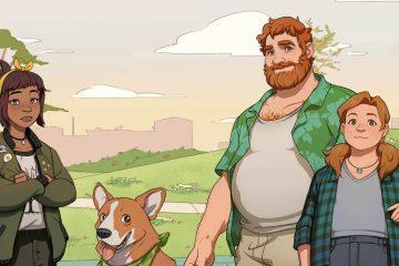 Обзор Dream Daddy: A Dad Dating Simulator