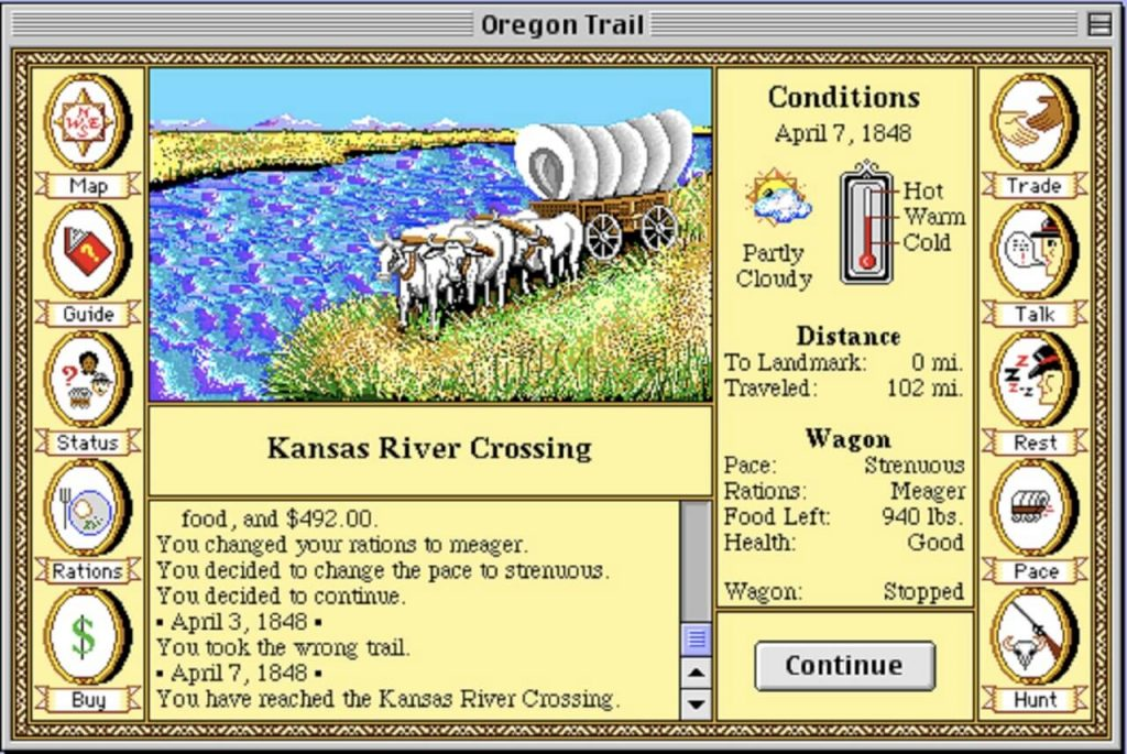 The Oregon Trail – Самая достоверная игра об Орегонском маршруте