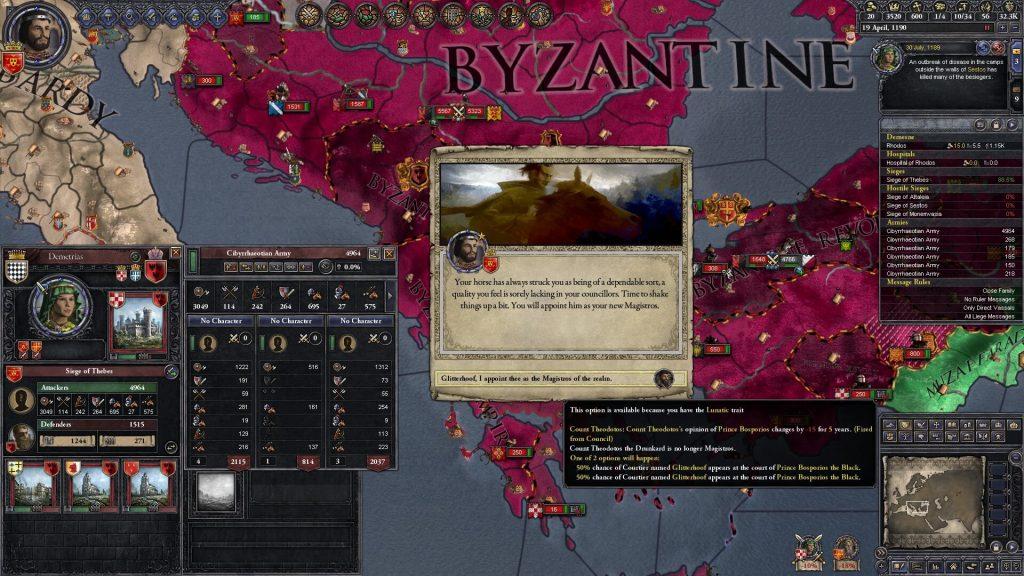 Crusader Kings 2 – Самое исторически достоверное отображение политики средневековой Западной Европы