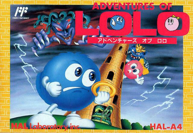 Обзор игры Adventures of Lolo