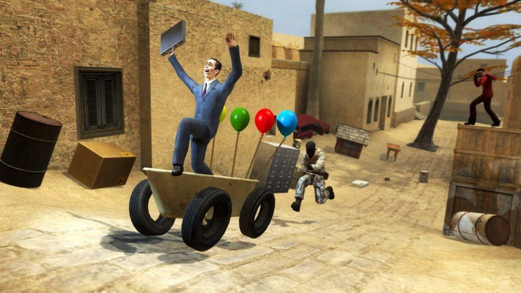 Garry's Mod для Half-Life 2