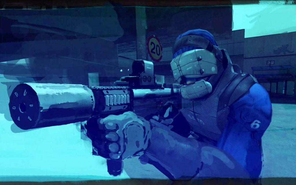 Мод NeoTokyo для Half-Life 2