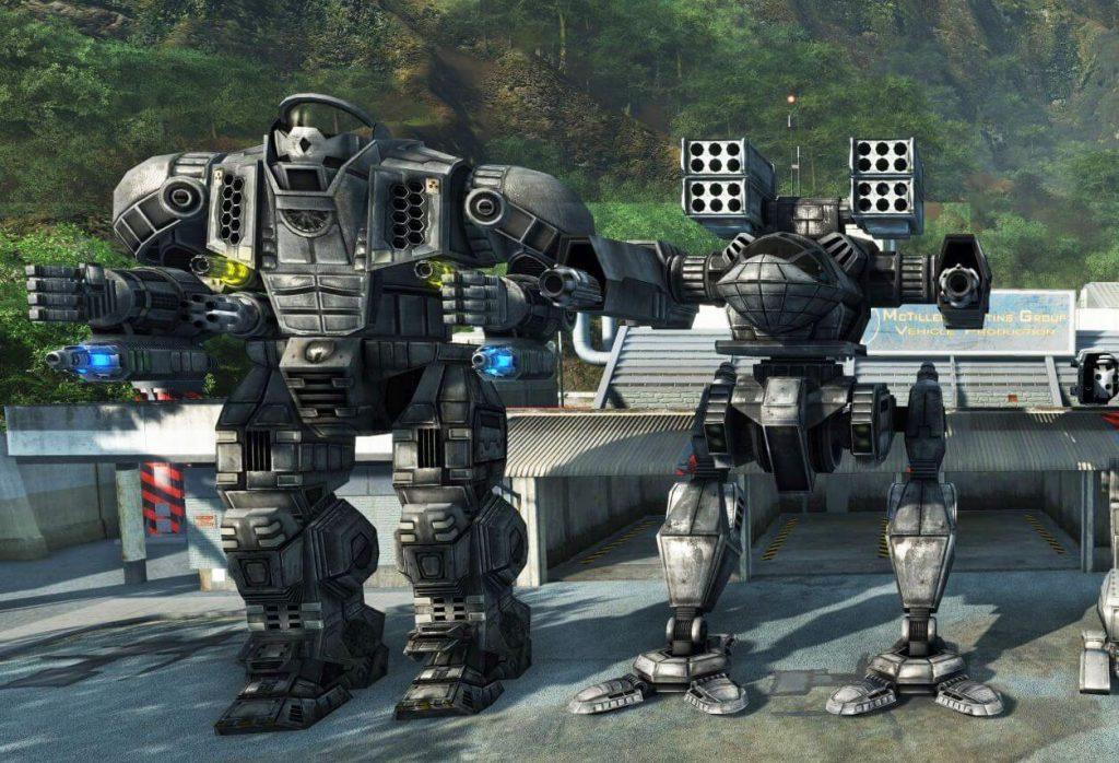 Мод Mechwarrior: Living Legends для Crysis Wars