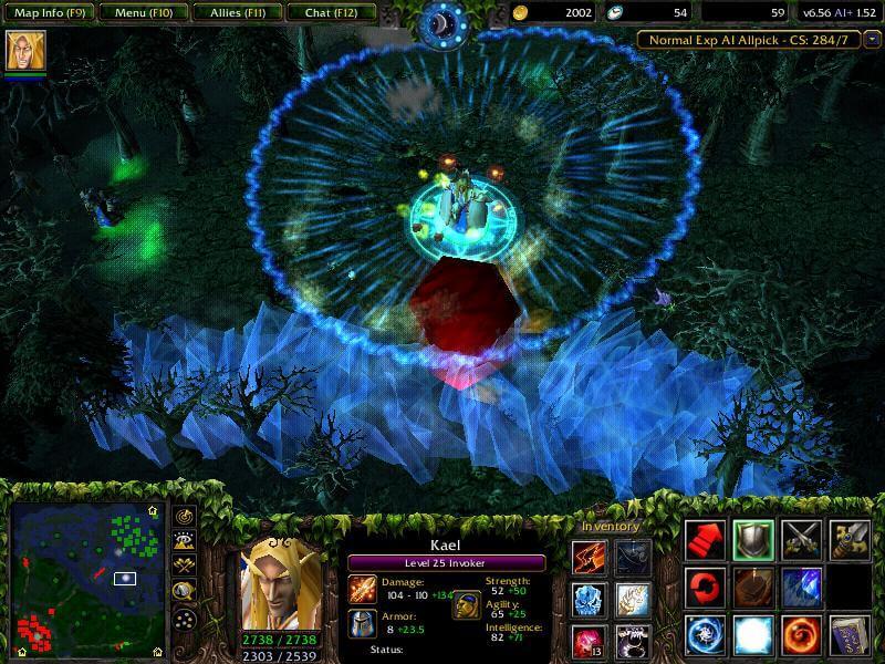 Мод Defense of the Ancients для Warcraft 3