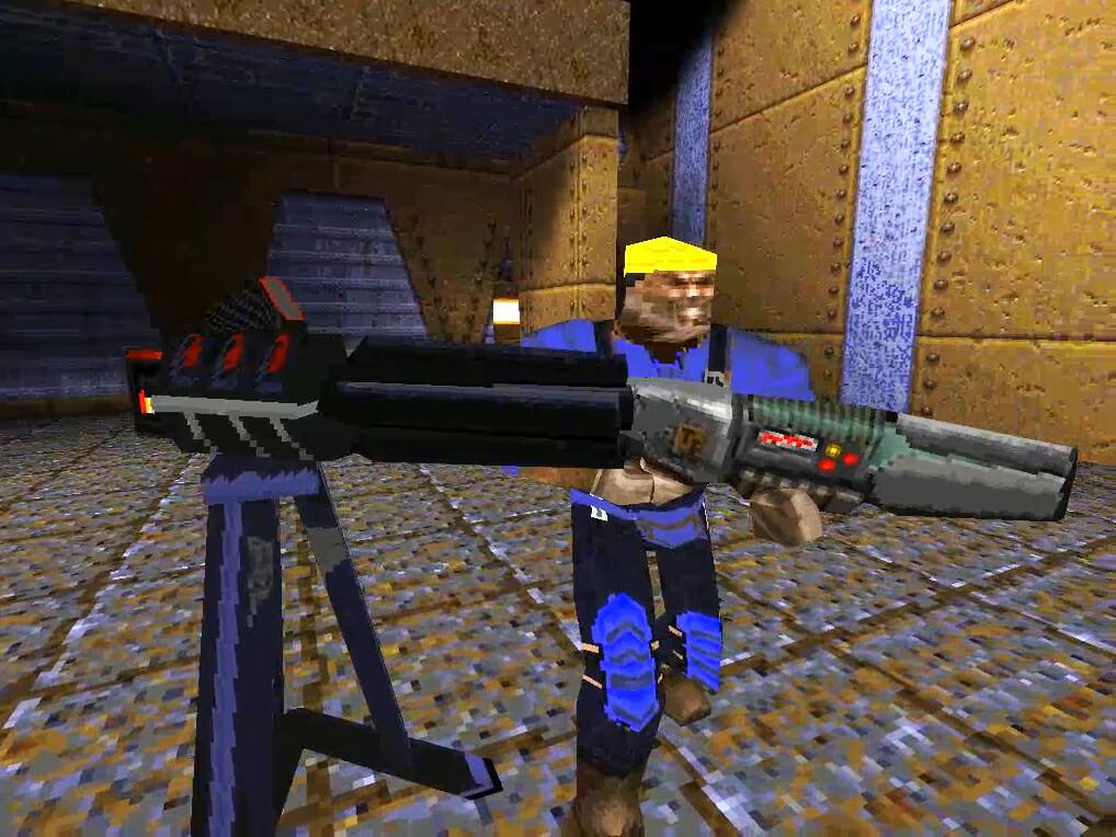 Team Fortress для Quake