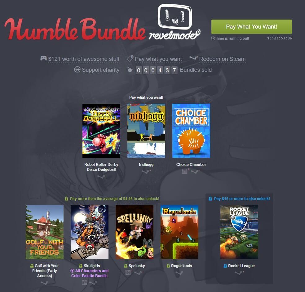 Humble Bundle рассказали о своих достижениях