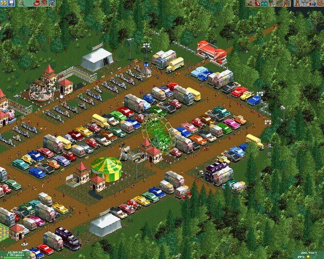 Обзор Rollercoaster Tycoon 2