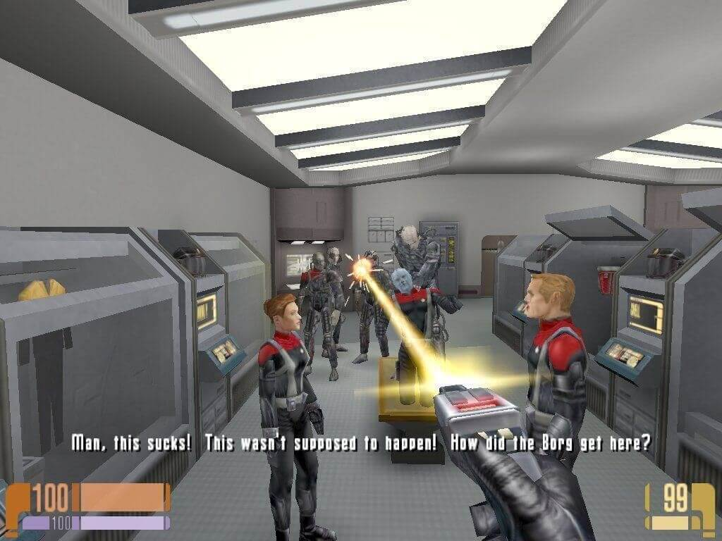 Star Trek: Voyager, Elite Force 1 и 2