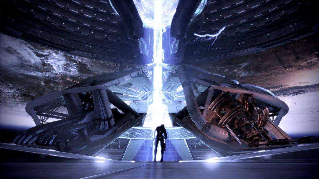 Уничтожить синтетиков, слиться с ними или взять Жнецов под контроль (Mass Effect 3)