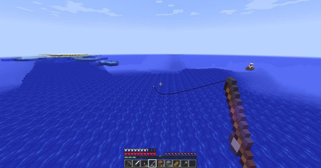 Как создать удочку и что можно поймать на рыбалке в Майнкрафт?