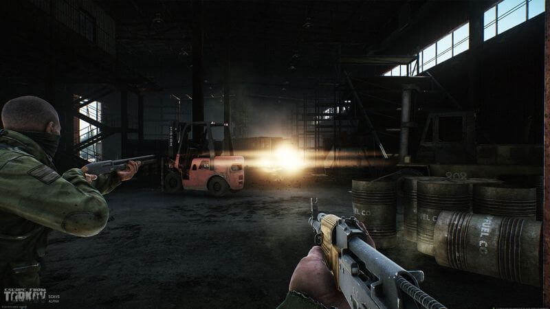 Онлайн-шутер Escape from Tarkov