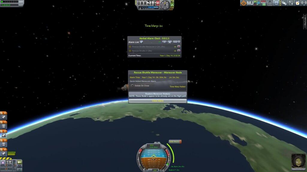 Kerbal Alarm Clock