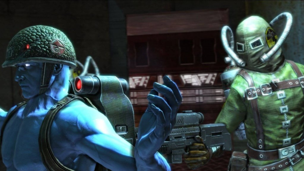 Обзор игры Rogue Trooper Redux