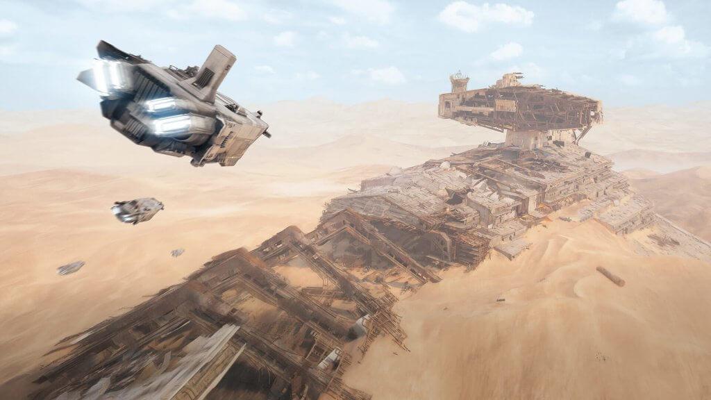 Star Wars Battlefront II намекнула на личности родителей Рей