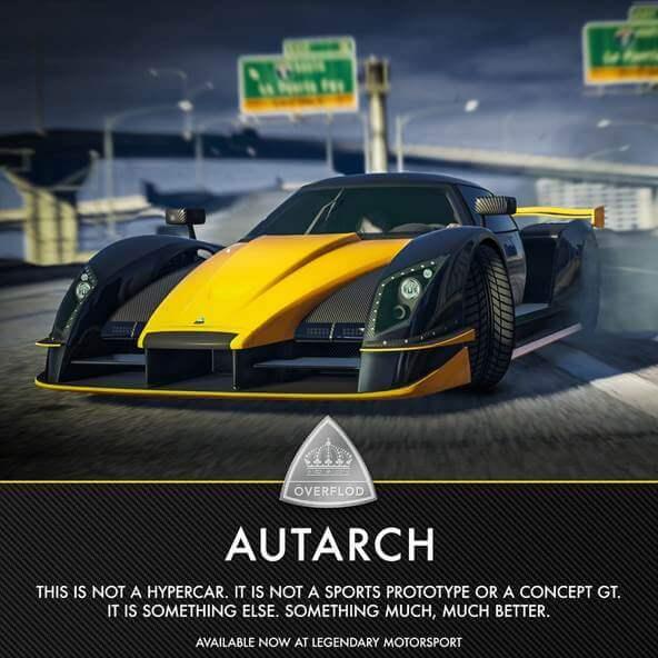 Autarch появится в GTA Online