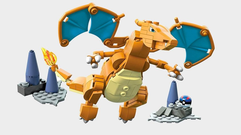Мега конструктор в форме Черизарда