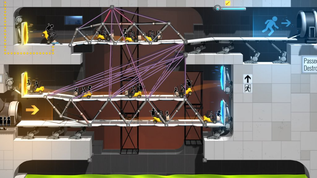 Обзор Bridge Constructor Portal