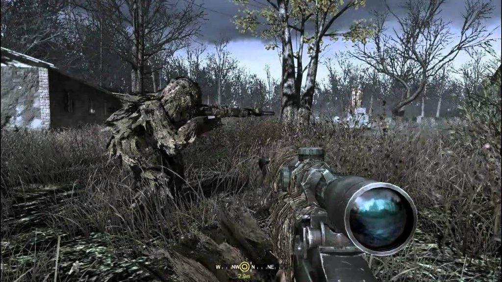 Все в камуфляже (Call of Duty 4: Modern Warfare)
