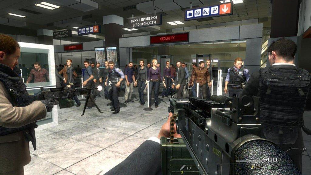 Ни слова по-русски (Call of Duty Modern Warfare 2)