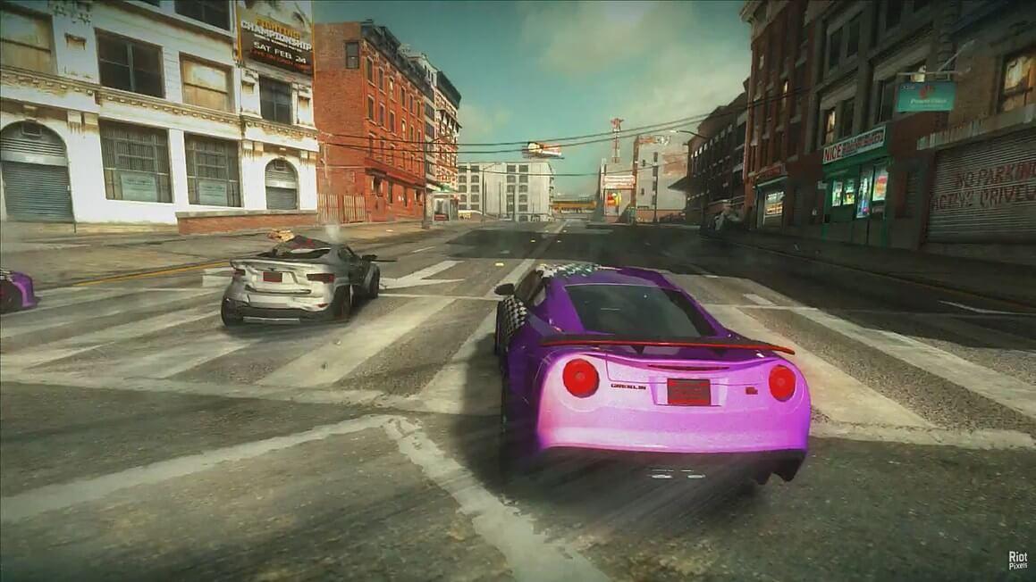 Обзор компьютерной игры Ridge Racer Driftopia