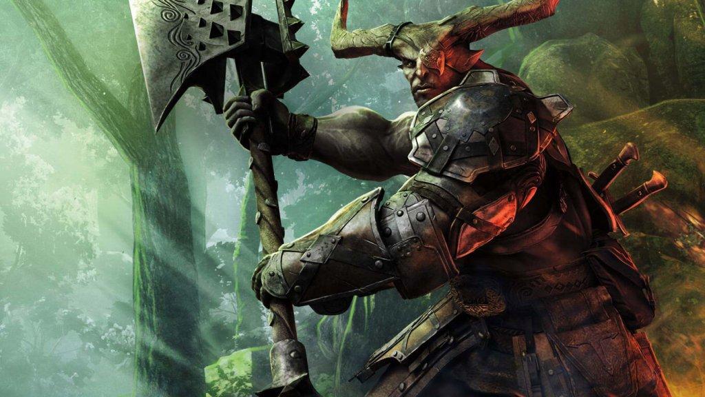 Железный бык из Dragon Age: Inquisition