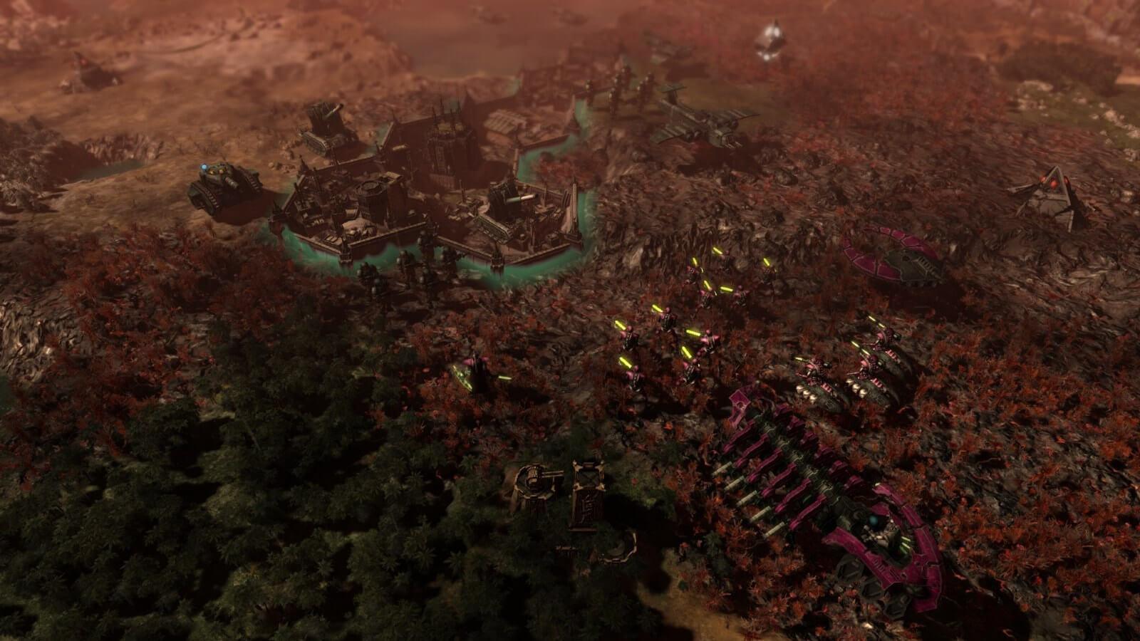 Warhammer 40,000: Gladius - Relics of War обещает быть мрачной 4X стратегией