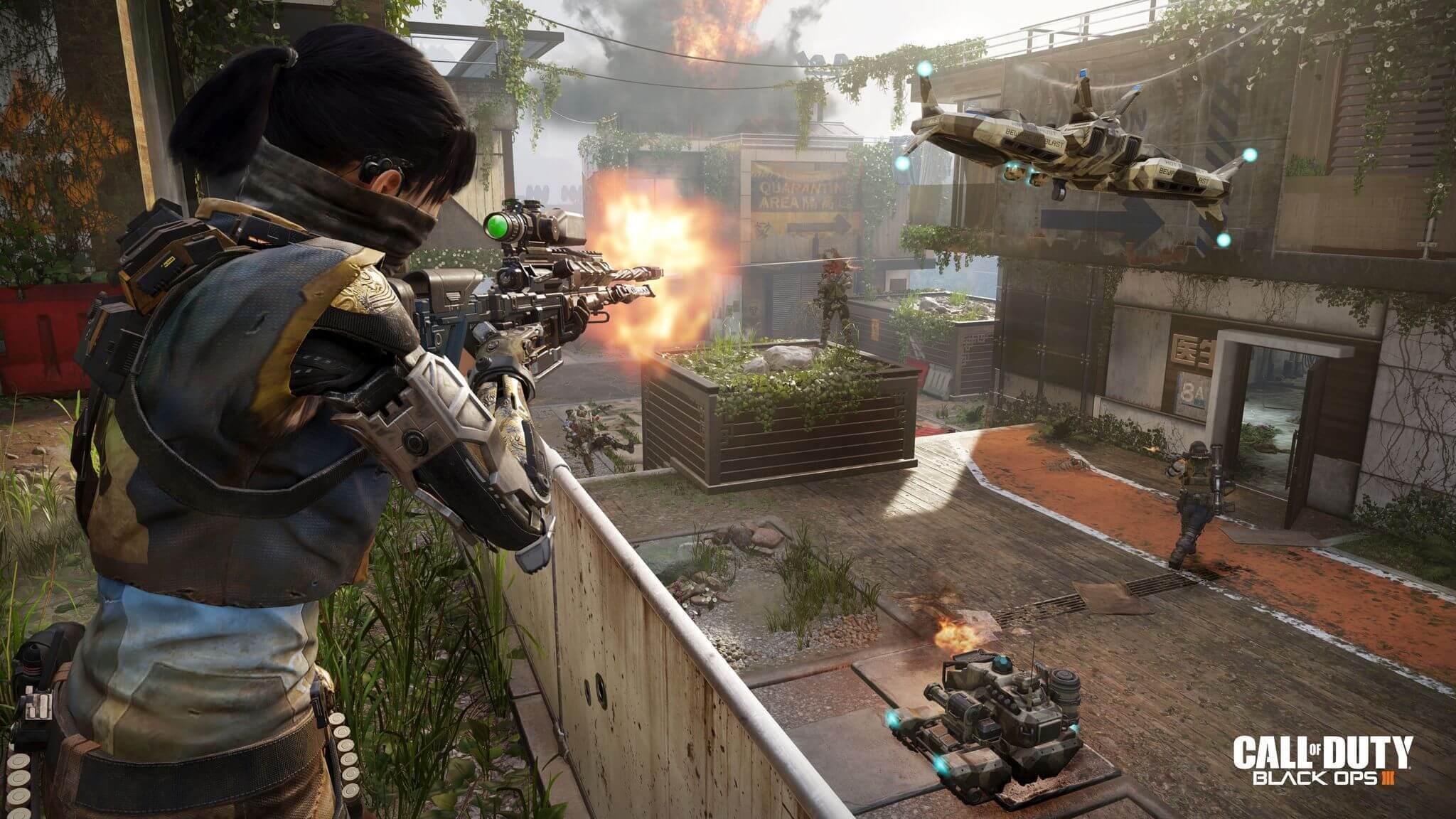 Обзор Call of Duty: Black Ops III