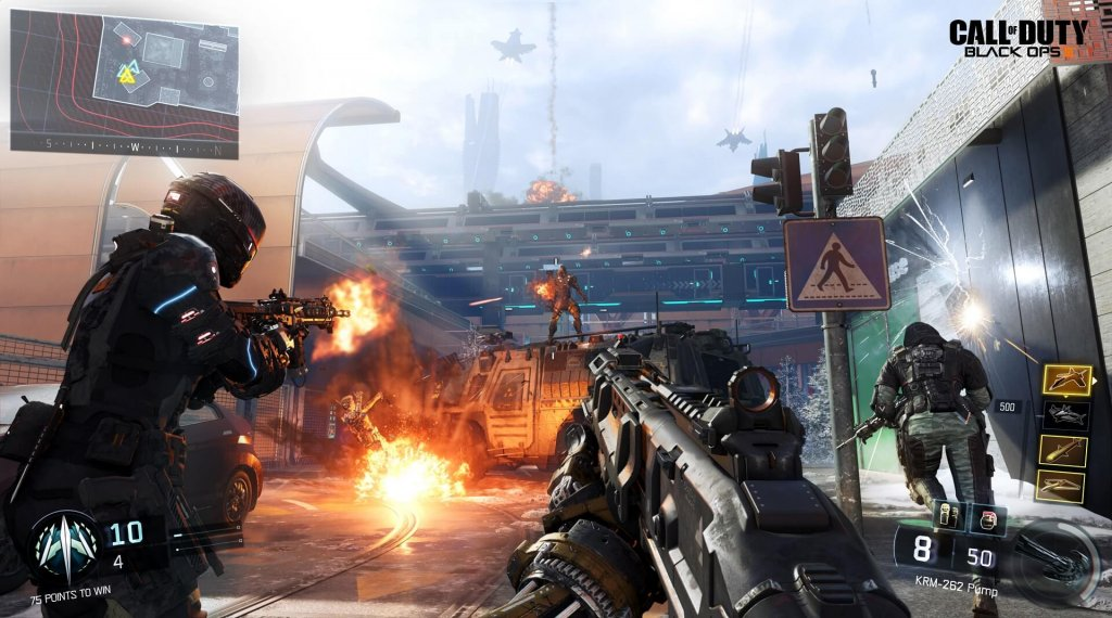 Обзор Call of Duty: Black Ops III