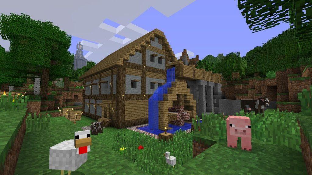 Minecraft - сетевая игра от компании Microsoft