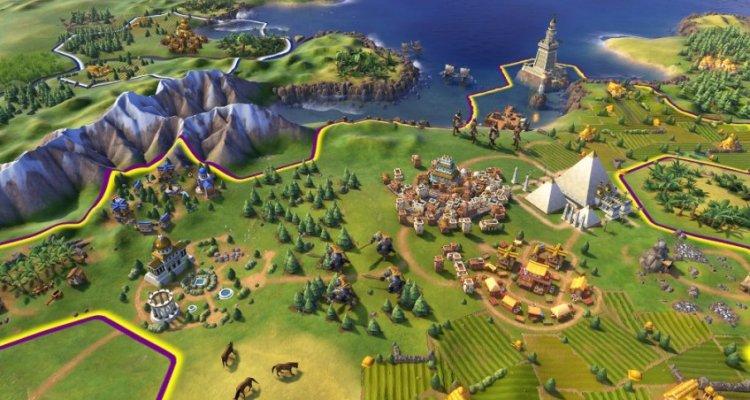 Цивилизация 6 на iPad