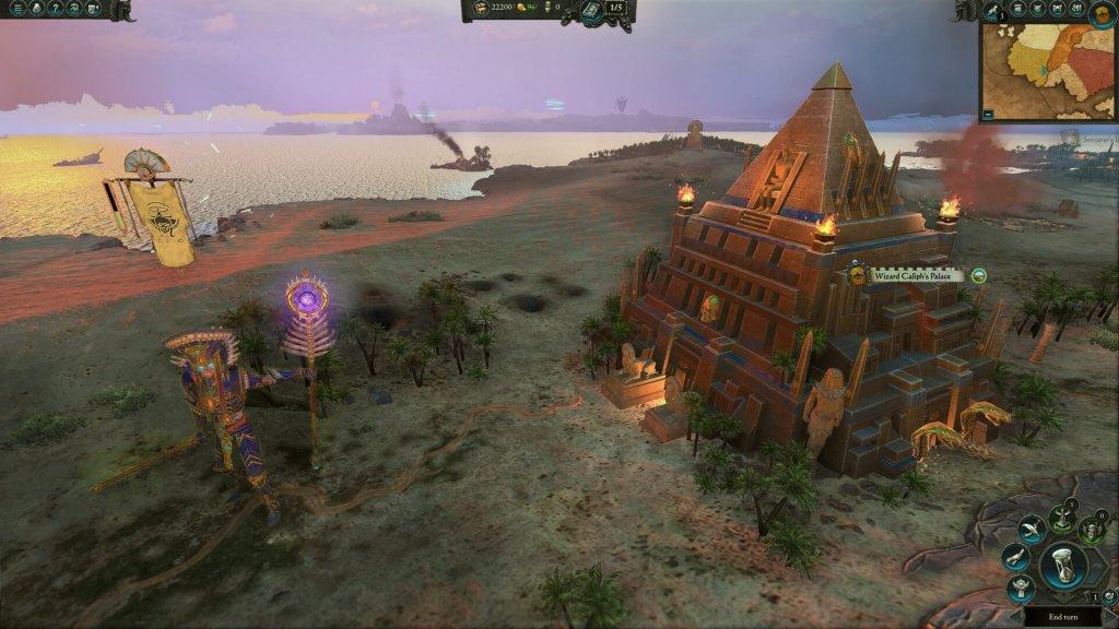 Восставшие фараоны в Warhammer II
