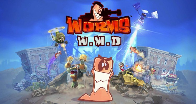 Обзор игры Worms W.M.D