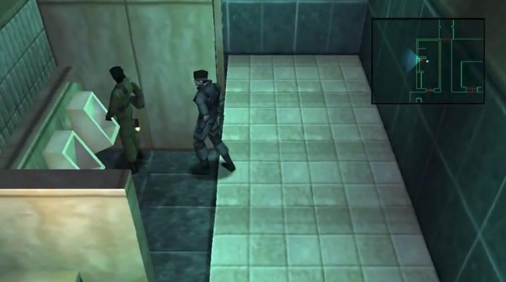 Жестокое убийство из Metal Gear Solid