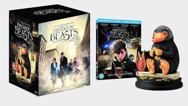 «Фантастические Твари и где они обитают» ограниченное издание Blu-Ray