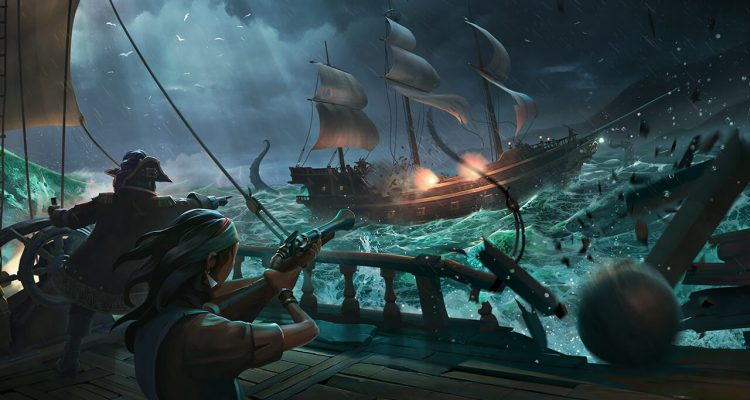 Изображения Кракена из Sea of Thieves демонстрируют его ужасающий размер
