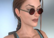 Обновленная версия 3D-модели Лары Крофт