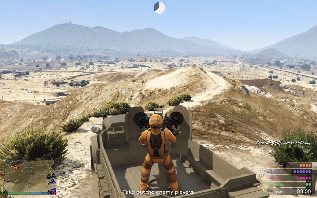 GTA Online, Motor Wars