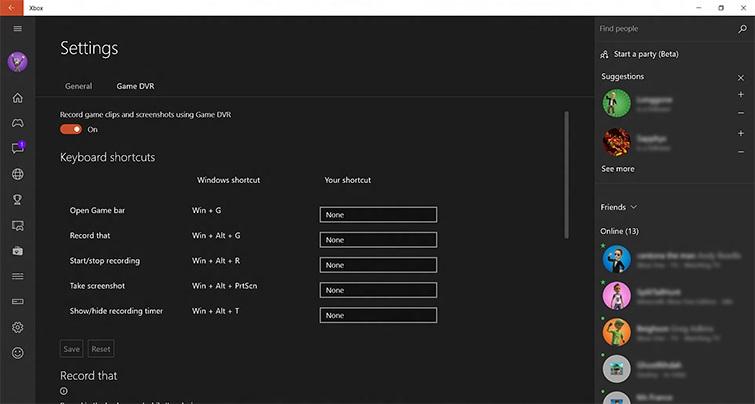 Windows Game DVR