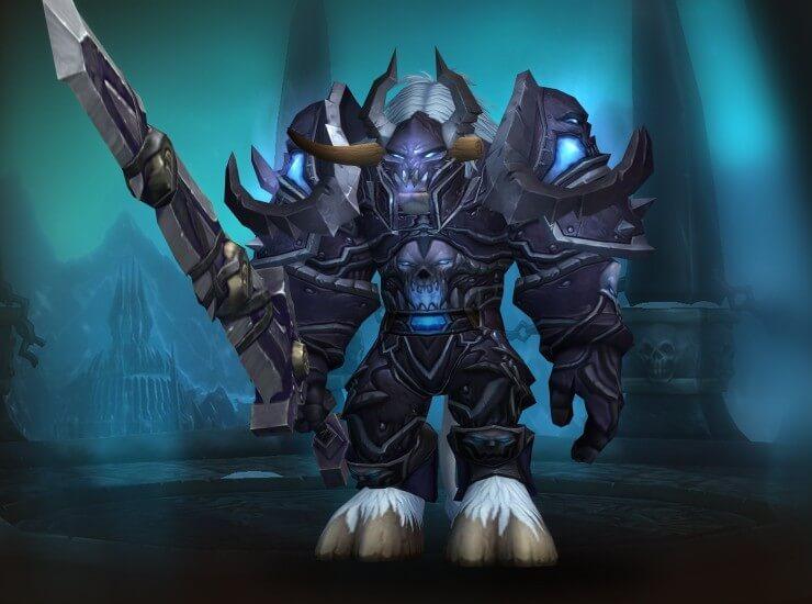 Conqueror's Darkrune – Рыцарь смерти, Тир 8