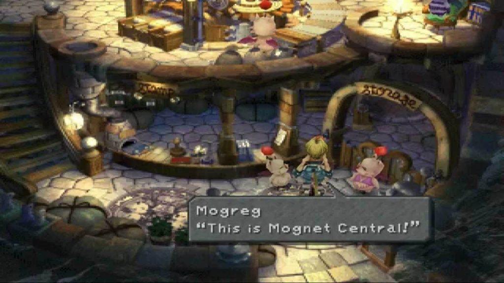 Final Fantasy 9: «Поиск центральной станции Могнет»