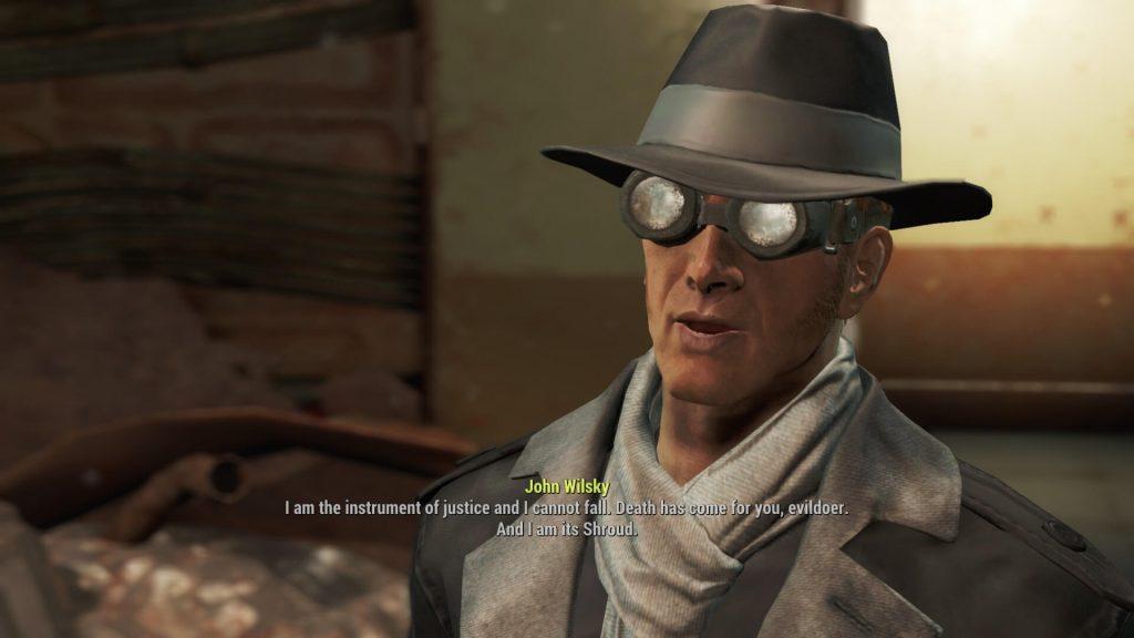 Fallout 4: «Серебряный Плащ»