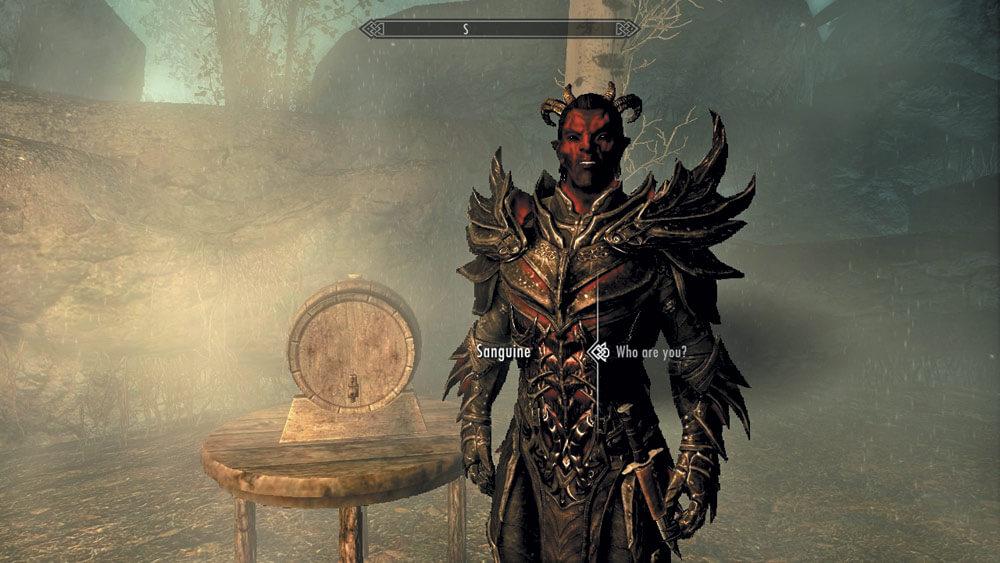 The Elder Scrolls V: Skyrim: «Незабываемая ночка»