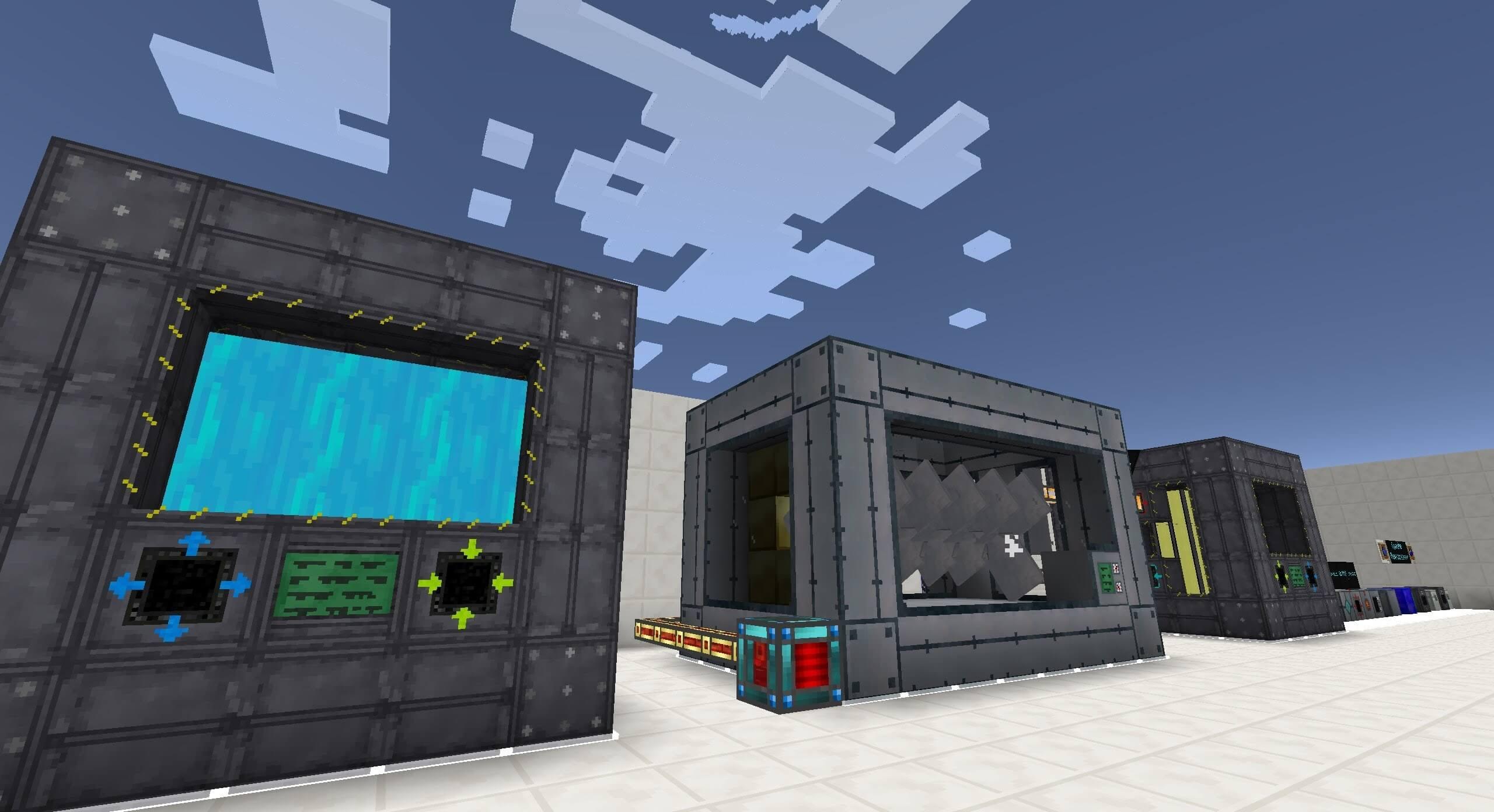 Мод на механизмы и генераторы для Minecraft 1.7.10 (Big Reactors)