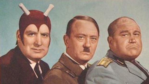 Дьявол с Гитлером