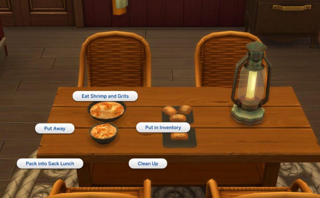 Custom Food Interactions