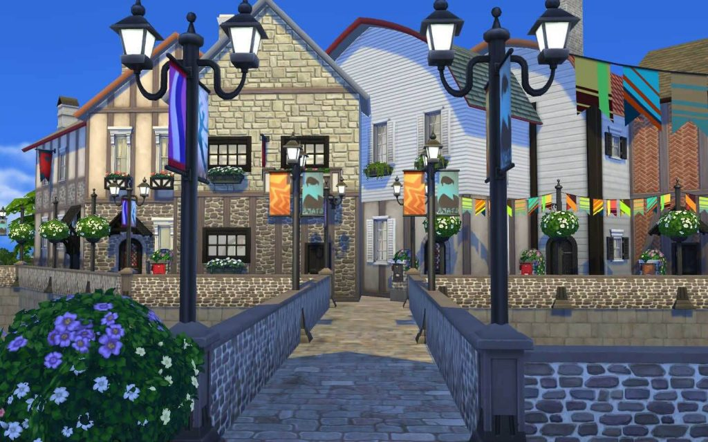 Старая французская деревня