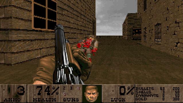 A Fistful of Doom (Doom II mod)