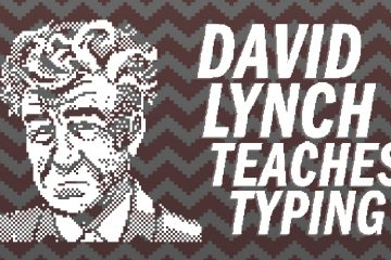 David Lynch Teaches Typing – выглядит так же, как и звучит
