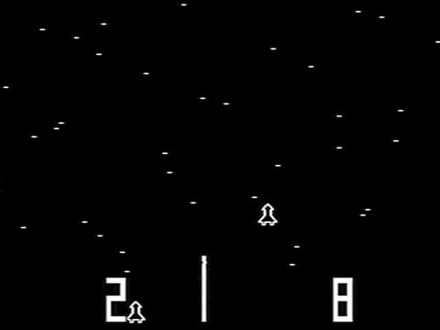 Гоночные игры в 70-ые