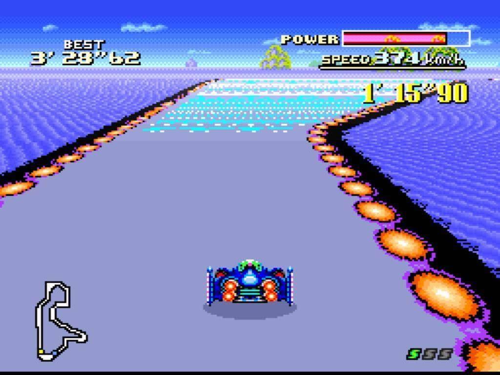 Гоночные игры в 90-ые